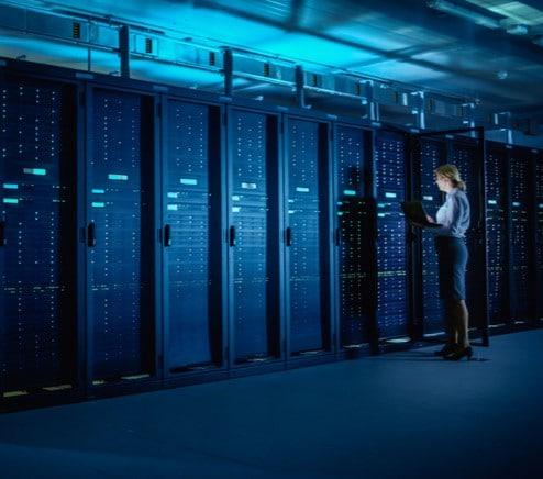 molnbaserad server